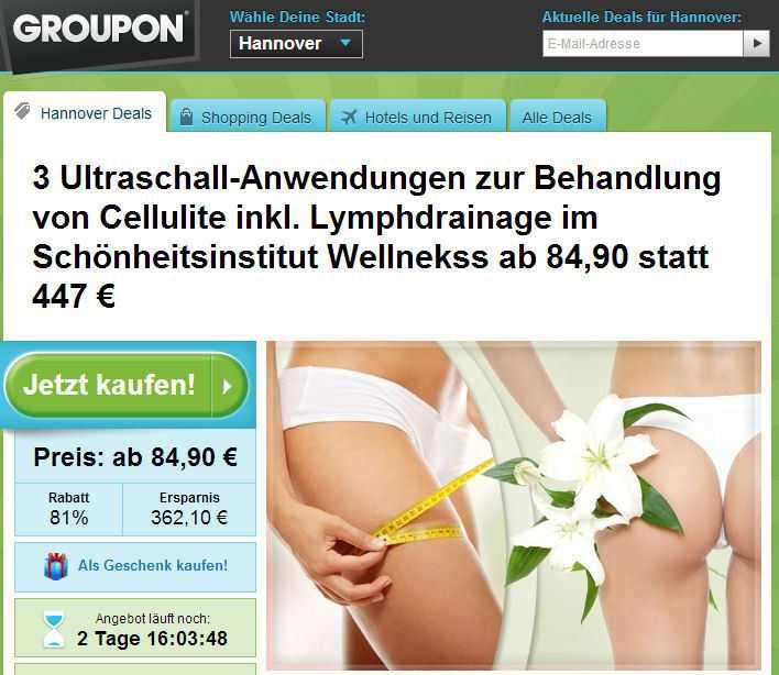 Mit seinen Schnäppchen-Angeboten kommt Groupon besonders in Europa nicht gut an