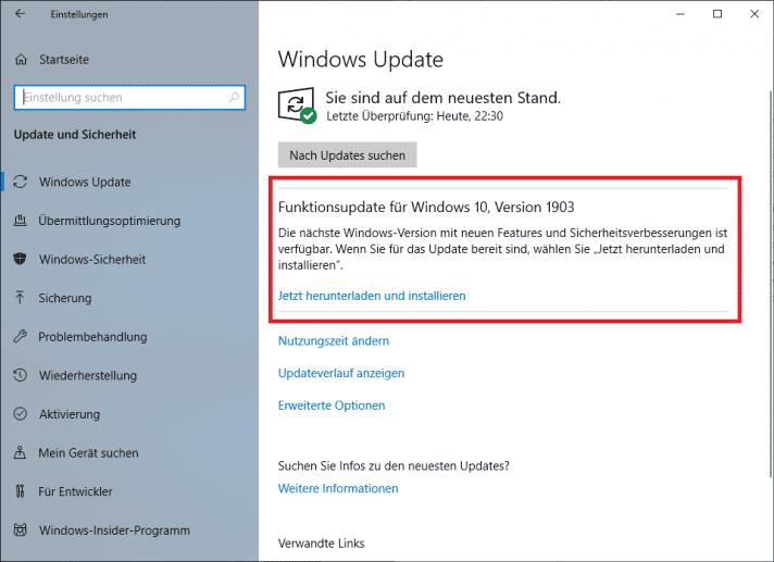 Windows 10 installiert Upgrades auf neue Versionen zwar weiterhin zwangsweise, doch immerhin nun mit deutlicher zeitlicher Verzögerung.