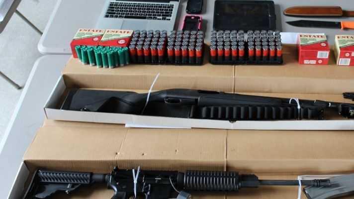 Waffen der US Polizei