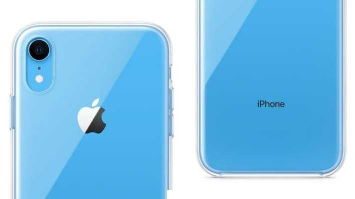 Apple verkauft durchsichtiges Plastikcase fürs iPhone XR