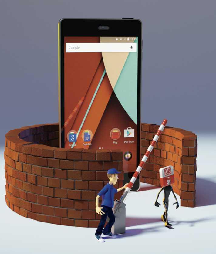 Androiden Raspberry Pi Kontrolle
