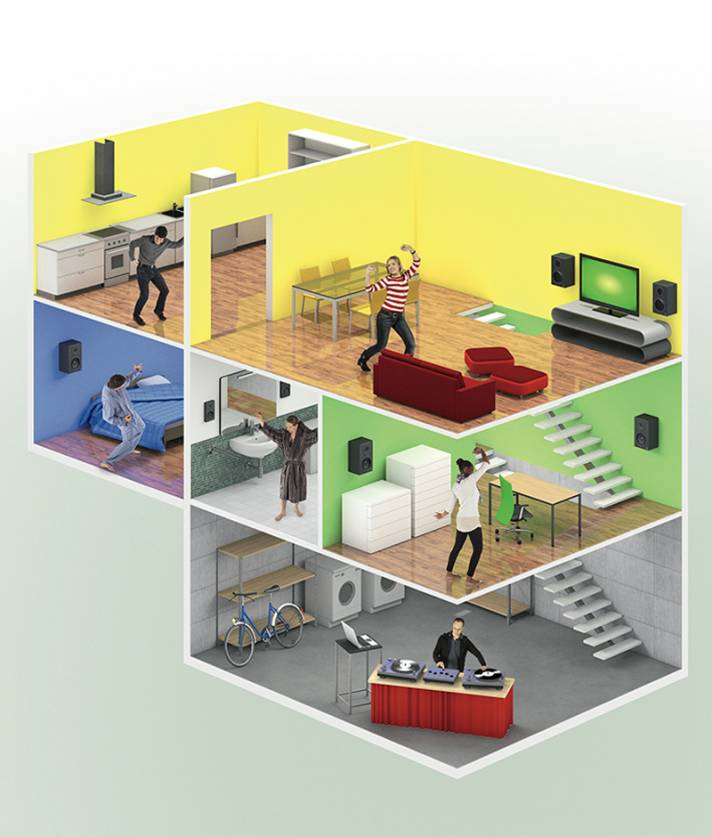 musik verteilen im ganzen haus c 39 t magazin. Black Bedroom Furniture Sets. Home Design Ideas