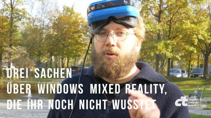 Windows Mixed Reality im Test