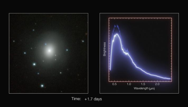 Fusion von Neutronensternen Sensationelle Bilder aus den Tiefen des Weltalls