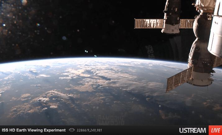 Live-Stream aus dem Weltraum in HD