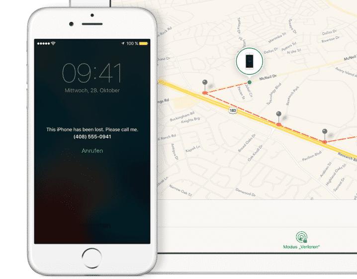 Mit erschlichenen iCloud-Zugangsdaten können Angreifer iPhones aus der Ferne sperren und löschen. Meist wird der Verloren-Modus verwendet, um eine Nachricht zu übermitteln.