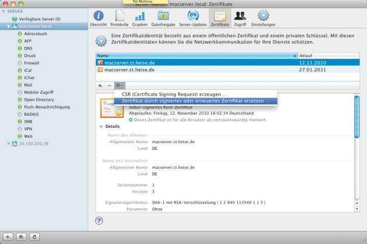 Apache ignoriert neues Zertifikat | c\'t Magazin