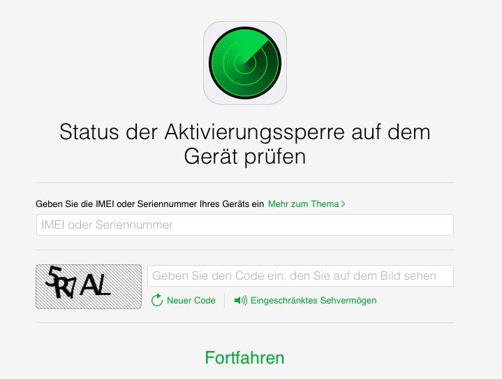 Erstmals lässt sich der Status der iOS-Aktivierungssperre auch aus der Ferne prüfen