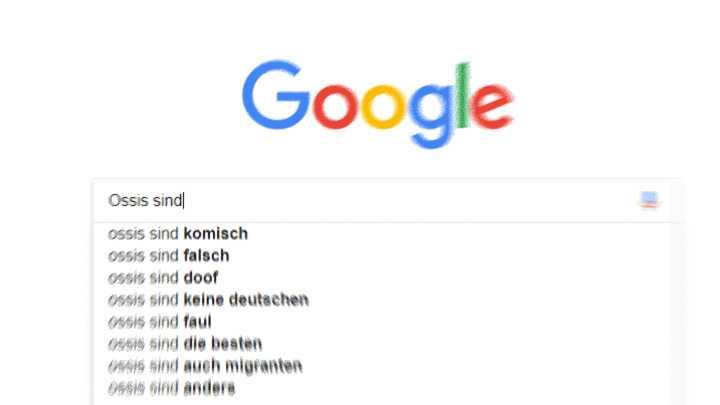 #HateSearch: Neue Kritik an Autovervollständigung bei Google