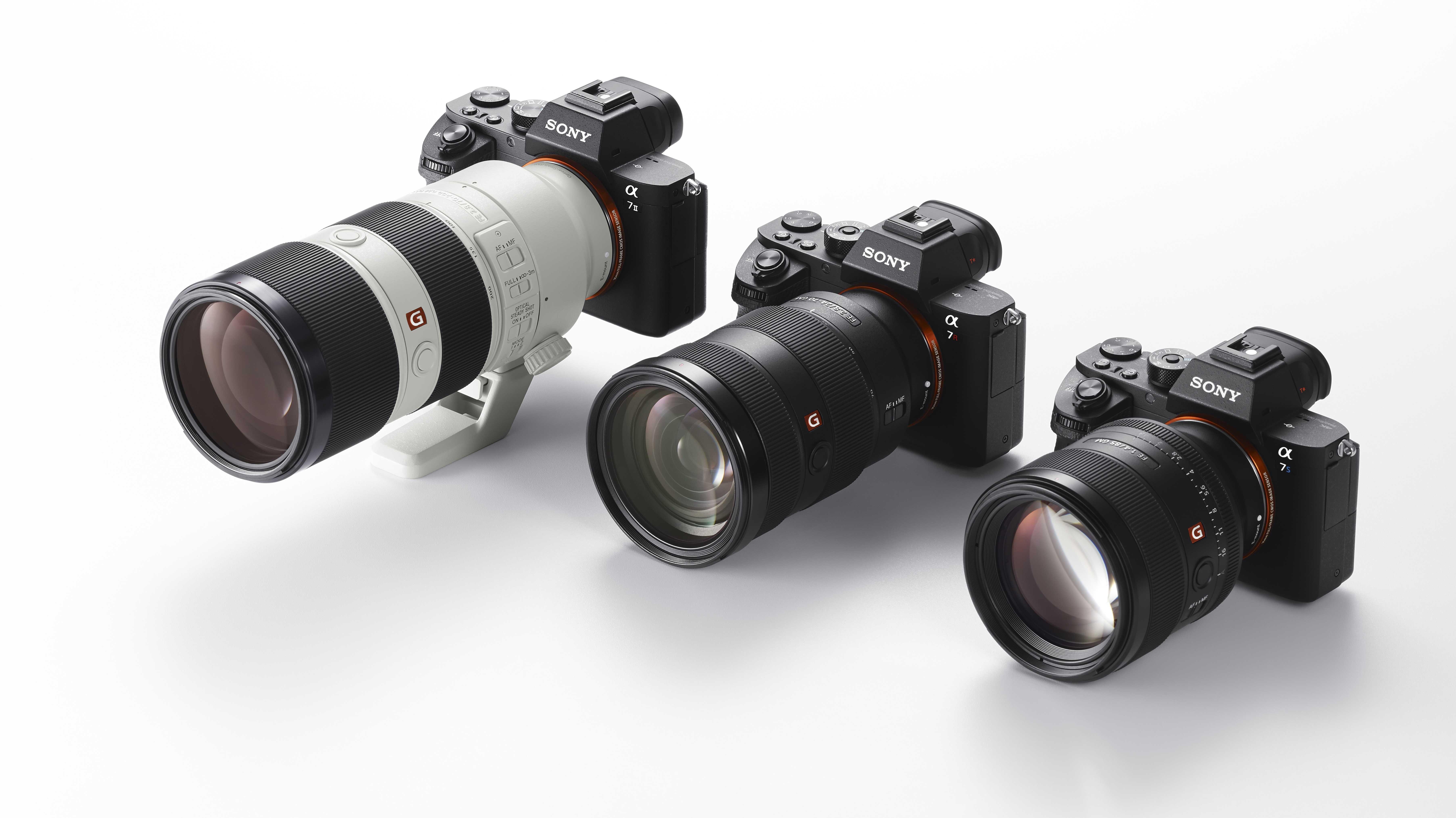 Sony E-Mount-Objektiv FE 2,8/70-200 mm GM OSS kommt später | c\'t ...