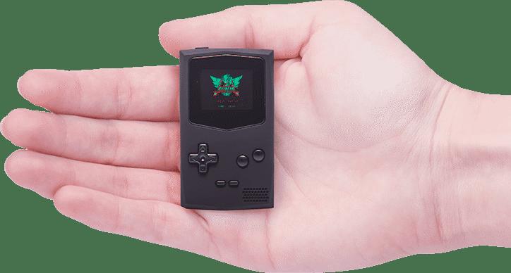 Der crowdfinanzierte Pocket Sprite ist nicht von Hardkernel. Technisch sind der Odroid-Go und der Pocket Sprite jedoch eng verwandt: Beide basieren auf einem ESP32.