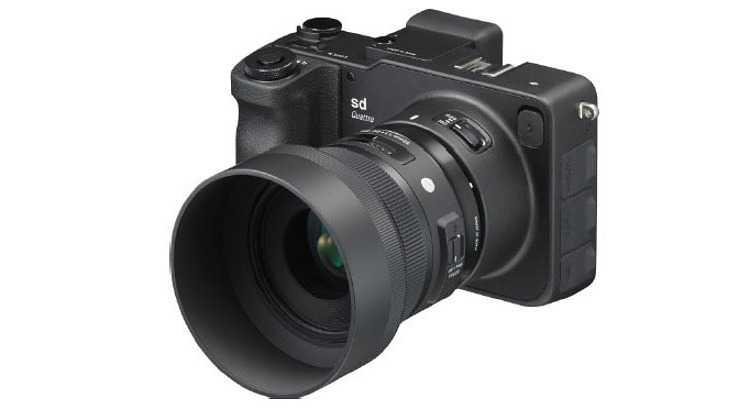 Sigma-APS-C-Kamera sd Quattro ab Juli lieferbar
