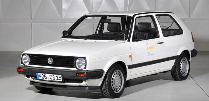 """1991 folgte auf den """"CityStromer I"""" der Golf """"Citystromer II"""", aber nur als Kleinserie von 120 Stück."""