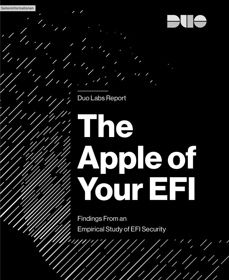 Apple patcht EFI-Firmware unzureichend