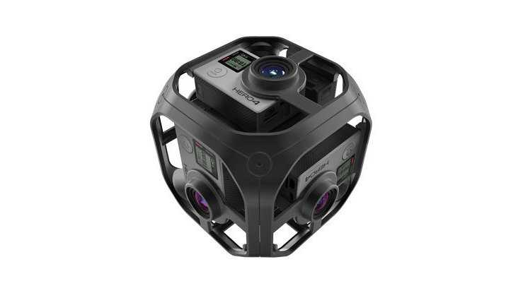 GoPro goes 360 Grad: Sechs Hero-4-Kameras im Rig für 5000$ (Kartengefumme inklusivel)