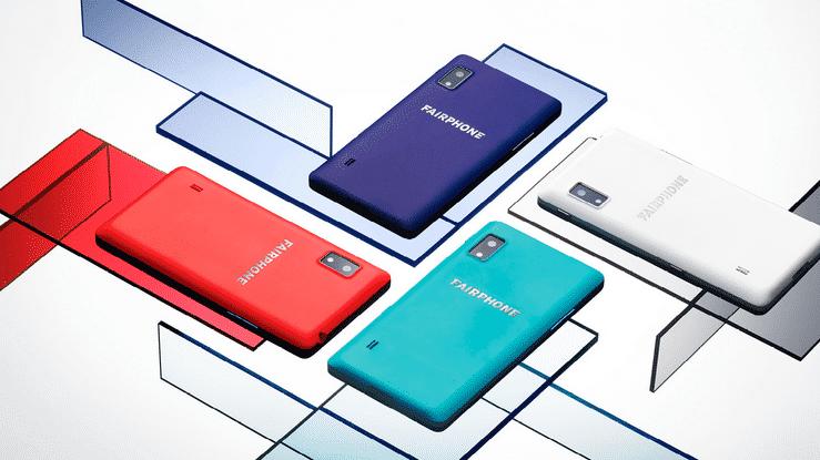"""Fairphone 2 trägt als erstes Smartphone den """"Blauen Engel"""""""