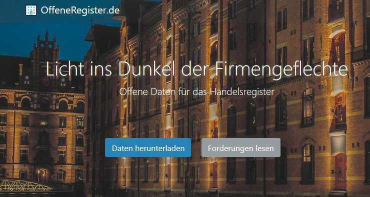 Web-Tipps  Kunst, Musik-Cover, Handelsregister