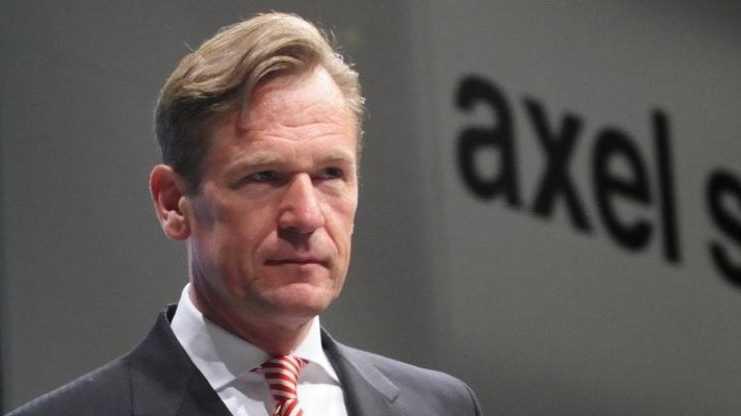 Axel-Springer-Chef: Übernahme von T-Online sehr unwahrscheinlich