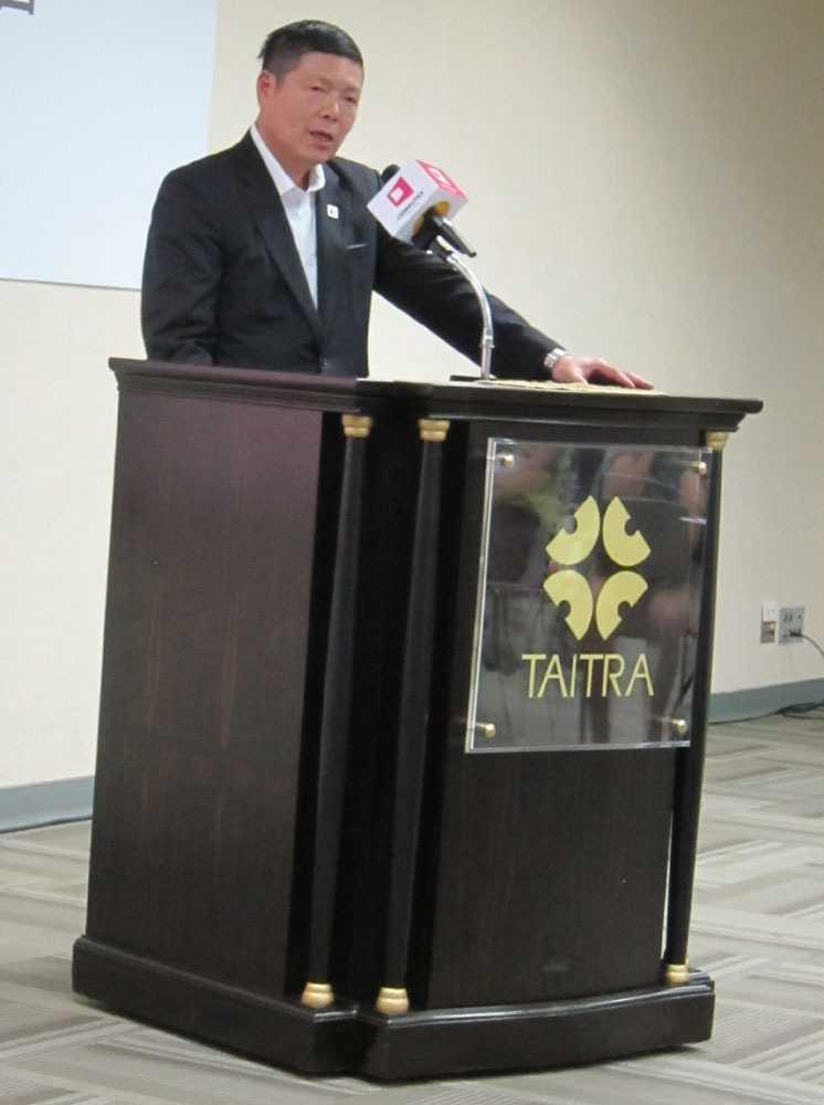Eine gelungene Messe, davon zeigte sich Walter Yeh von der Taitra überzeugt.