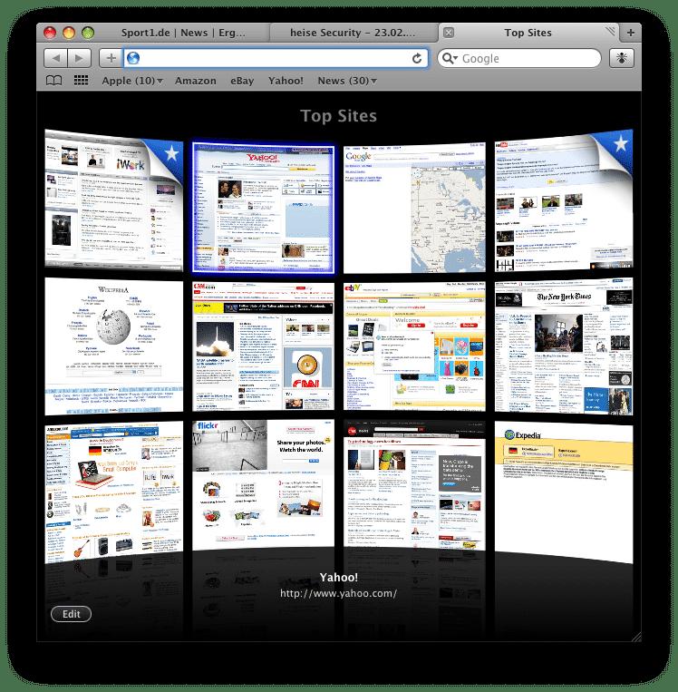 Safari 4 beta