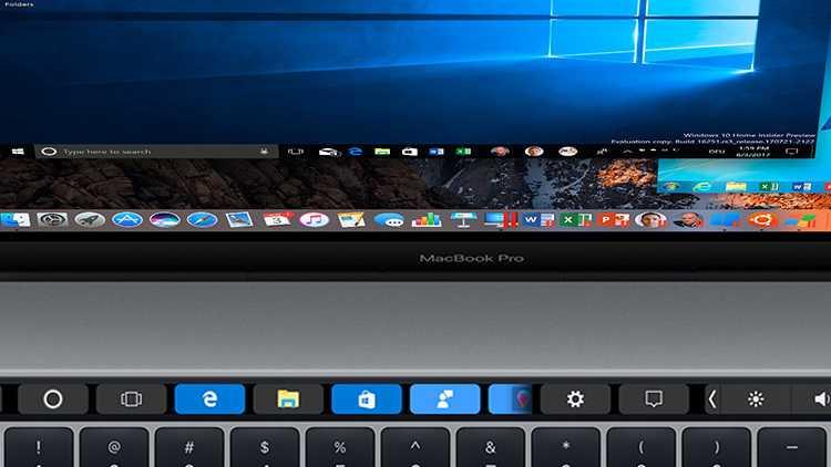 Parallels Desktop 13: Windows in der Mac-Touch-Bar