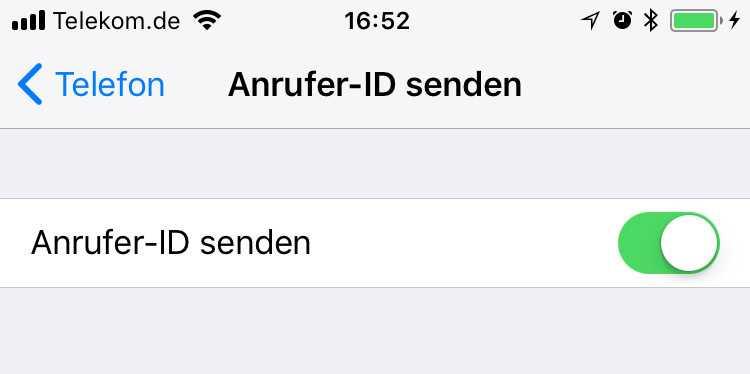 Anrufer-ID