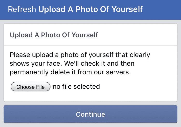 Diesen Hinweis erhielten einige Facebook-Nutzer.