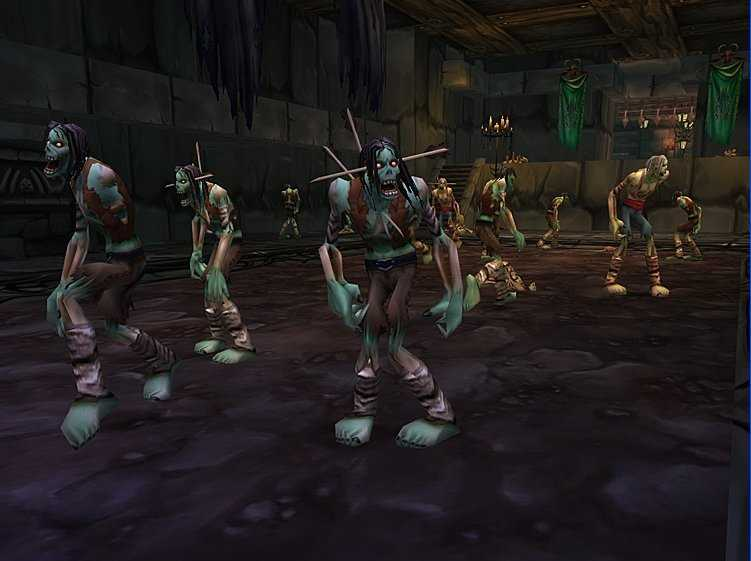 Zombies in World of Warcraft