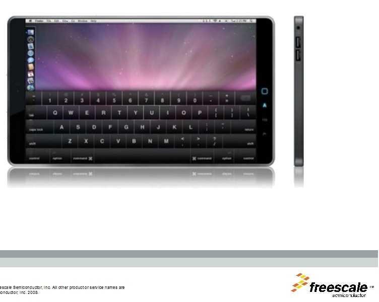 Netbook mit Touchscreen und Mac OS