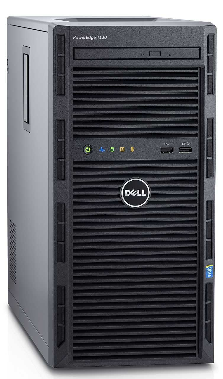 Dell PowerEdge T130 mit Xeon E3-1200 v5