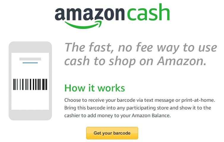 Amazon-Kunden in den USA können ihre Einkäufe nun auch mit Bargeld bezahlen. Dazu nötig ist lediglich ein Barcode und der Besuch eines Geschäfts.