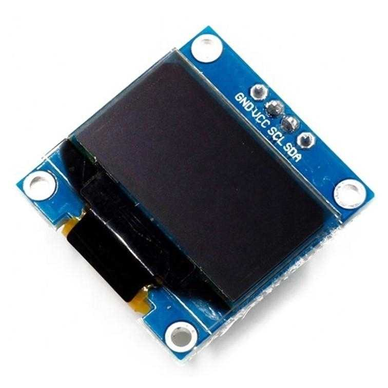 Das preisgünstige SSD1306-Display bietet 128 x 64 Pixel
