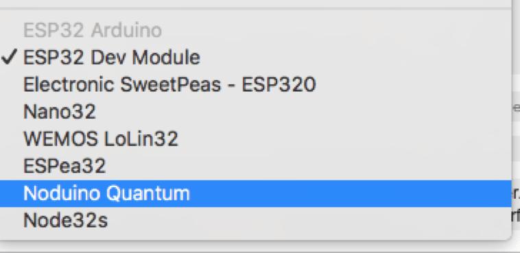 Nach der Installation des ESP32 Arduino Core stehen in der Arduino IDE ESP32-Boards zur Verfügung