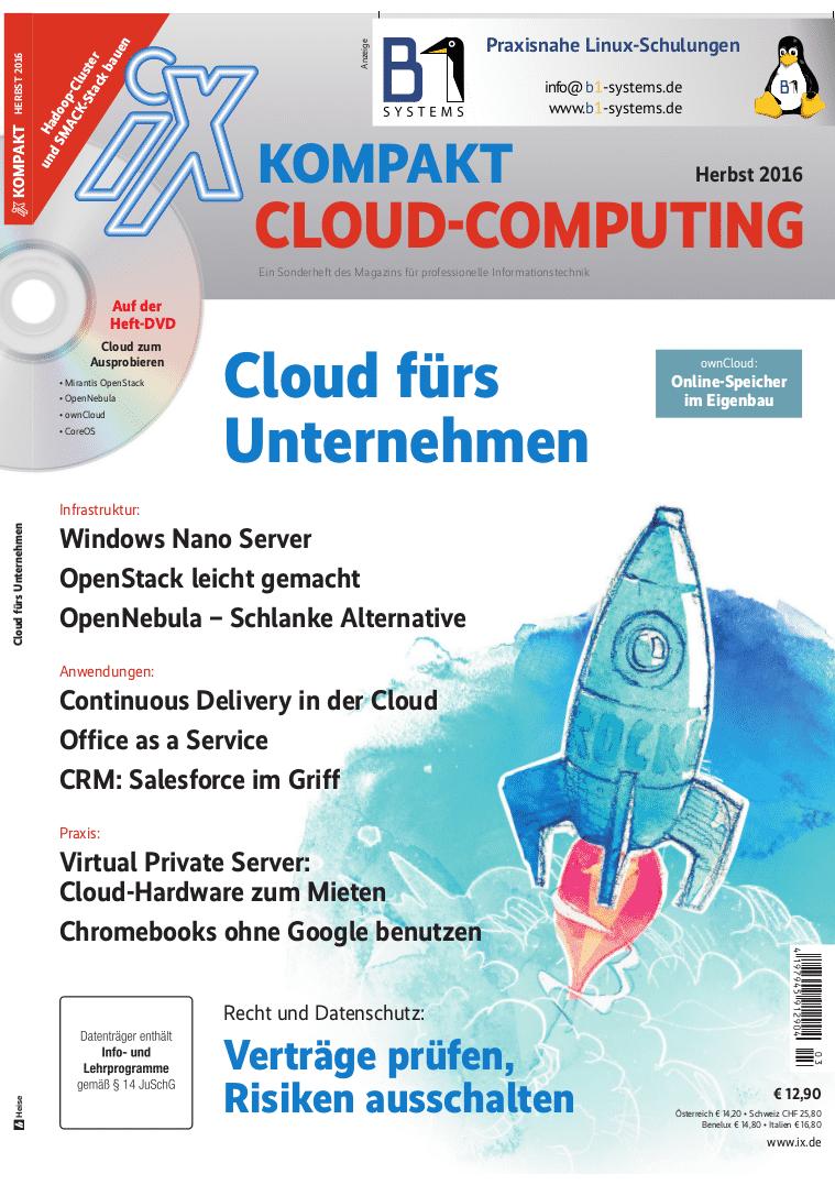 iX-Sonderheft: Cloud fürs Unternehmen