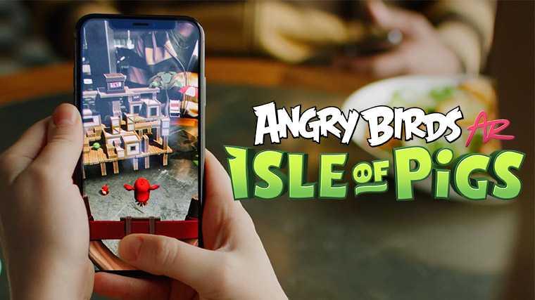 Angry Birds AR: Schweine und Vögel im Physik-Sandkasten