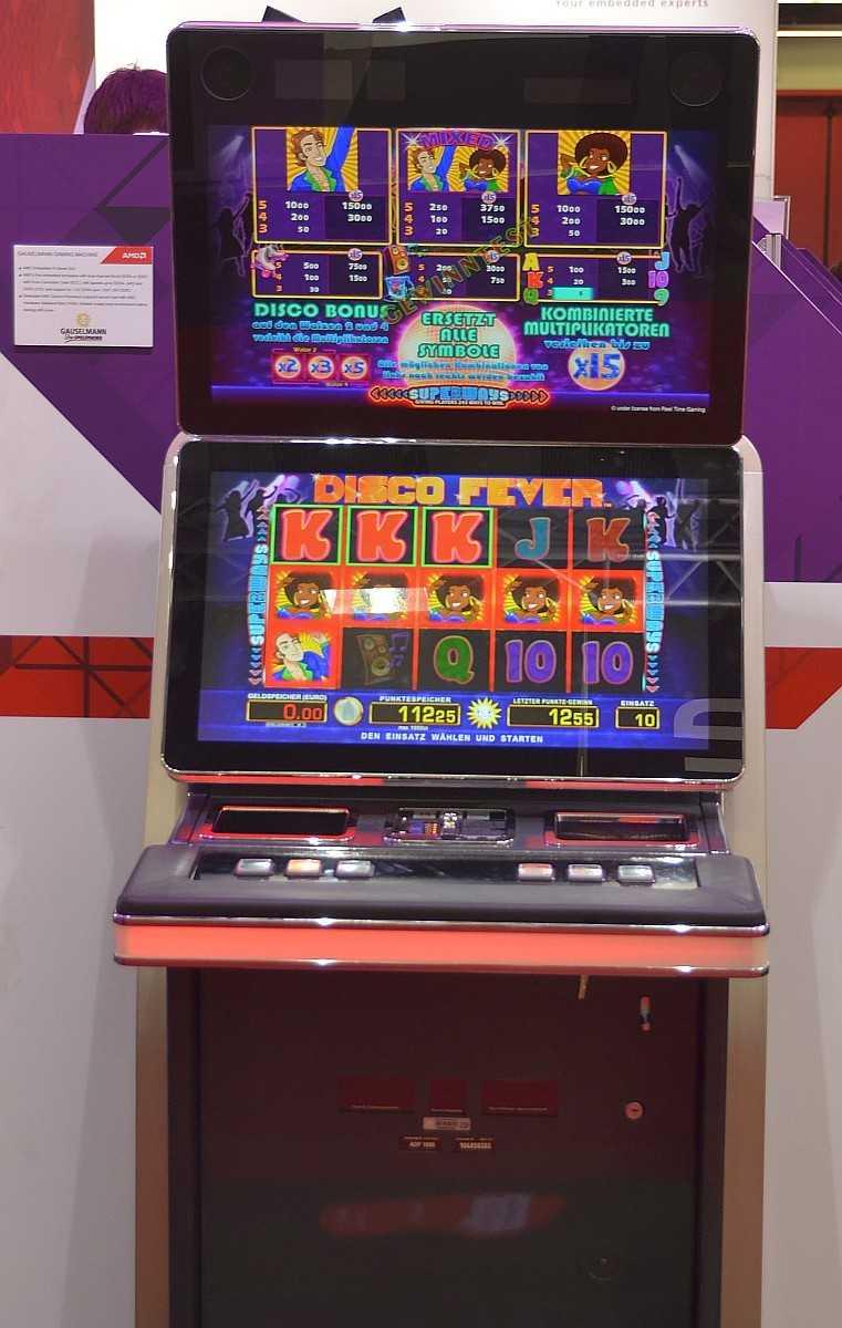 Gauselmann-Spielautomat mit Embedded-APU von AMD