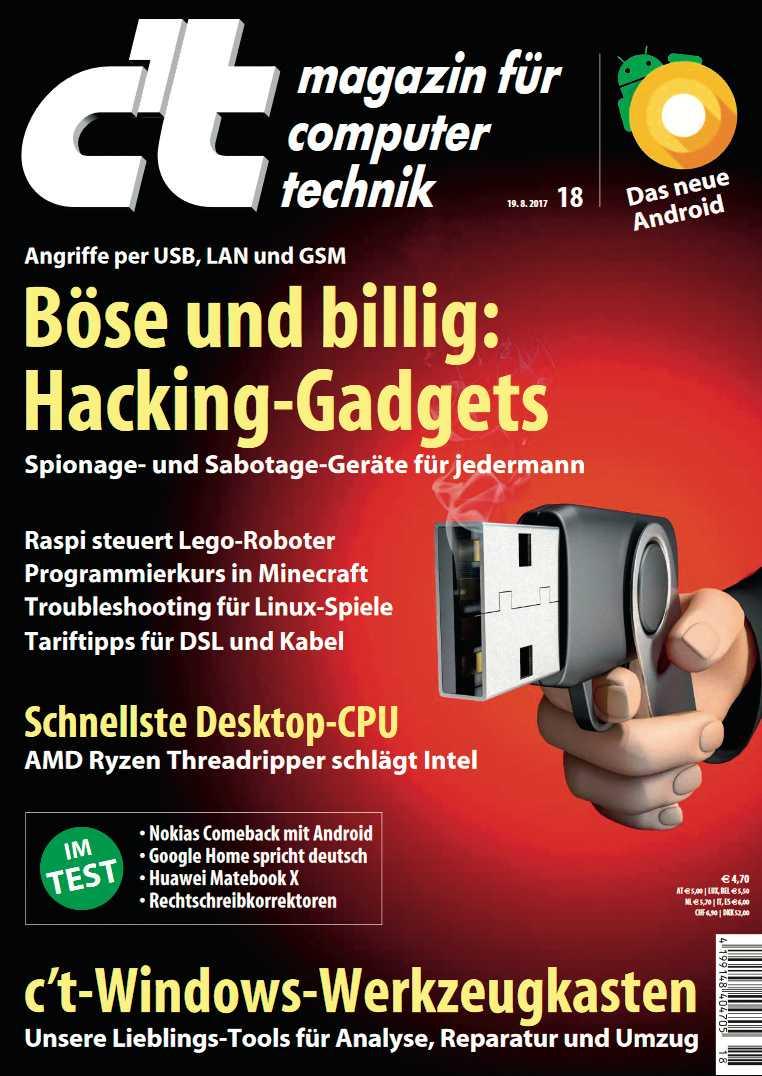 Diese Idee lag pl?tzlich auf der Hand: ein USB-Hacking-Gadget, zur Pistole umfunktioniert.