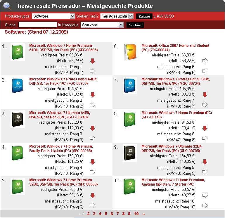 Preisradar-Software-Top10-KW51-09