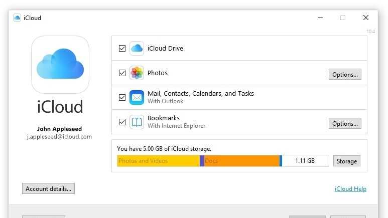 iCloud nun tiefer in Windows integriert