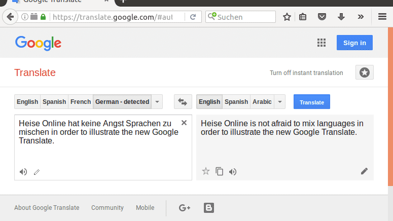 Google: Translate-KI übersetzt dank selbst erlernter Sprache