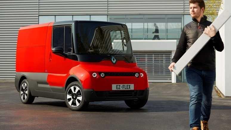 Elektro-Lieferwagen EZ-Flex: Renault lässt Unternehmen auf der letzten Meile testen