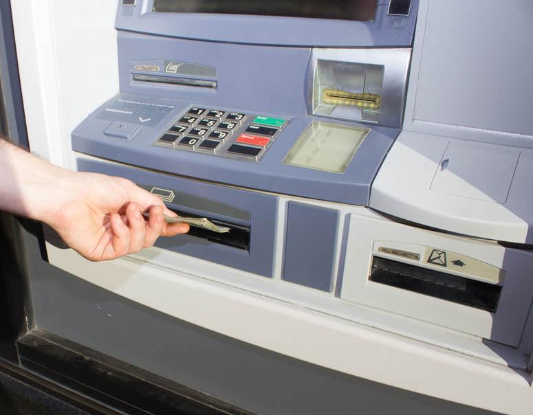 Bargeld – durch Bankautomaten zu jeder Zeit abhebbar