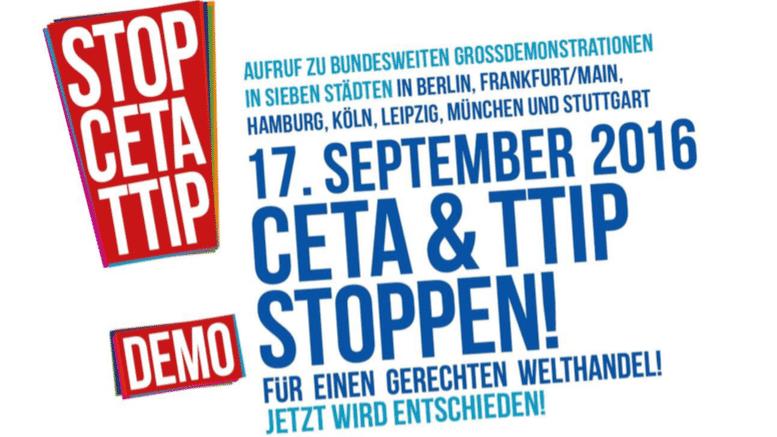 Ceta: Gewerkschaften und Verbände mobilisieren Freihandelsabkommen-Gegner