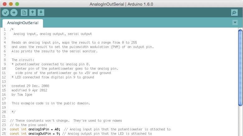 Arduino-IDE Version 1.6 ist fertig