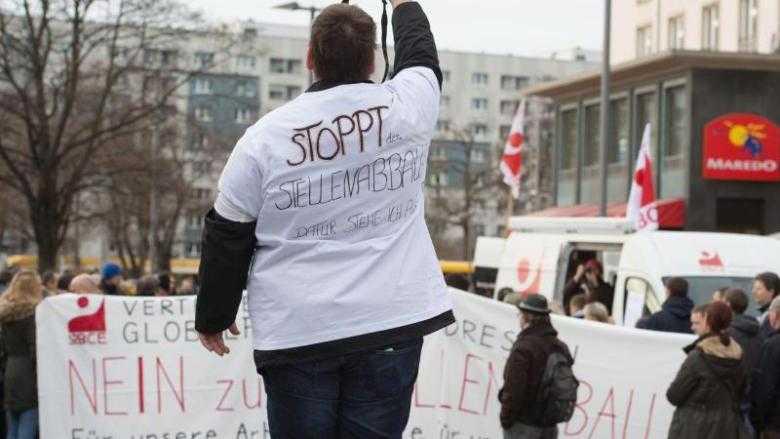Globalfoundries-Mitarbeiter demonstrieren gegen Entlassung