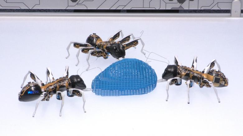 bionik vom feinsten k nstliche schmetterlinge und robotische ameisen auf der hannover messe. Black Bedroom Furniture Sets. Home Design Ideas