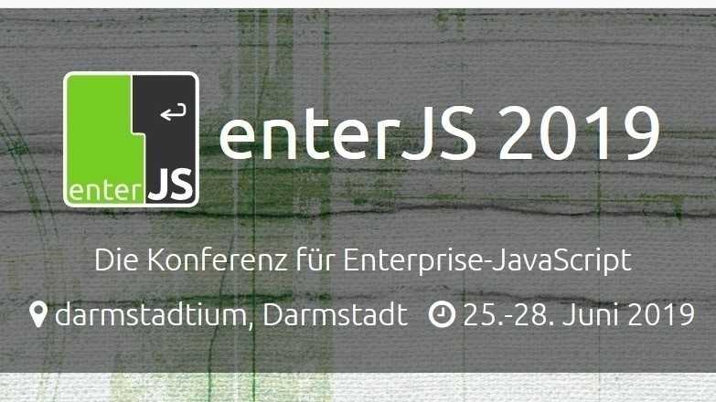 enterJS 2019: Das Programm ist veröffentlicht