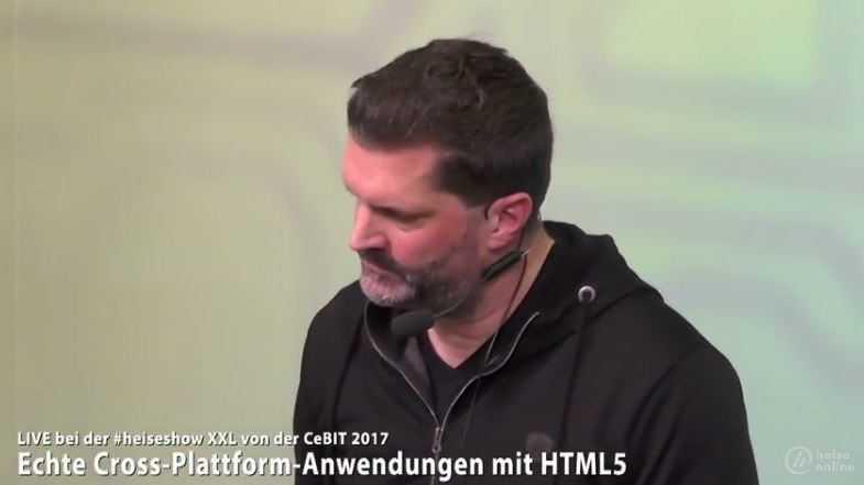 #heiseshowXXL: Echte Cross-Plattform-Anwendungen mit HTML5