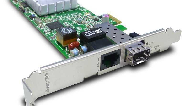 VDSL-Router für PC-Einbau mit Modem-Option