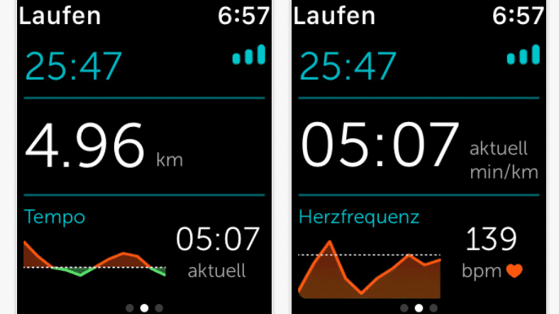 Runkeeper auf der Apple Watch